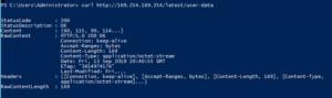 Get user data from AWS Ec2 running instance