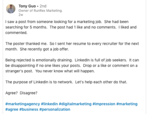 Free and Effective Internet Marketing - Linkedin
