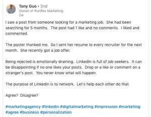 Free and Effective Internet Marketing - Linkedin